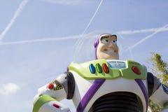 Buzz lightyear. Huge buzz lightyear in eurodisney ,paris france royalty free stock photography