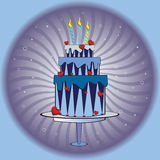 Huge cake Stock Photography