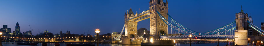 HUGE-Cantral London Panorama royalty free stock photos