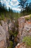 Huge canyon Royalty Free Stock Photo