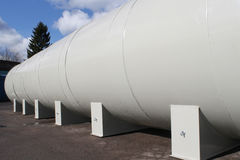 Huge capacity fuel tank royalty free stock images