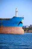 Huge cargo ship Royalty Free Stock Photos