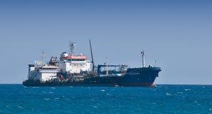 Huge cargo ship Royalty Free Stock Photography