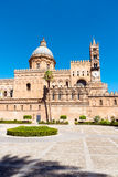 The huge cathedral of Palermo Stock Photography