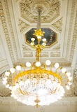 Huge chandelier Royalty Free Stock Photo