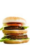 Huge cheeseburger Stock Photos