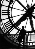 The huge clock Royalty Free Stock Photo