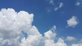 Huge cloud and the blue sky Stock Photography