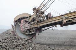Huge coal excavator Stock Photography