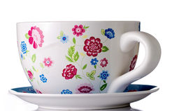 Huge coffee or tea cup Stock Image