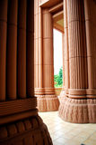 Huge columns Royalty Free Stock Photos