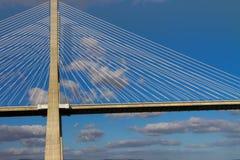 Huge concrete bridge Stock Photo