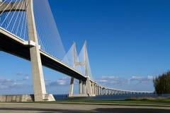 Huge concrete bridge Royalty Free Stock Images