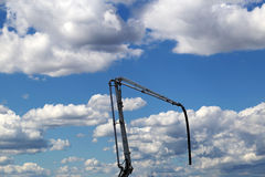 Huge concrete pump Stock Photography