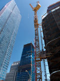 Huge construction site in downtown San Francisco Stock Photo