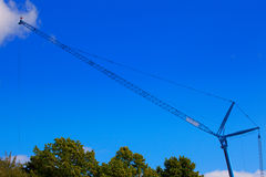 Huge crane Royalty Free Stock Photos