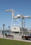Huge Crane royalty free stock image