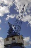 Huge cranes at a sea port Stock Photography