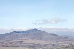 Huge Crater of Mount Longonot Royalty Free Stock Photos