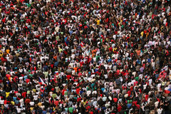 Huge Crowd Stock Photography