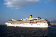 Huge cruisership. A huge cruisership royalty free stock photography