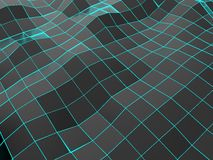 Huge dark square waves background. Huge dark square wave background Stock Images