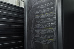 The huge data center server room cloud services Royalty Free Stock Photos