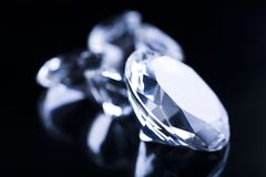 Huge diamond Royalty Free Stock Photography