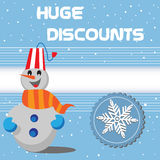 Huge discounts Royalty Free Stock Photography