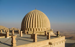 Huge dome on the turkish roof in Mardin, Turkey Stock Photography