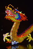 Huge dragon at China Light festival Stock Images