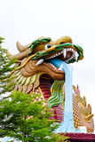 Huge dragon statue. Stock Image