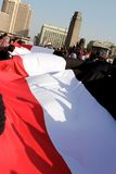 Huge Egyptian Flag - Jan 25 2012 Stock Image