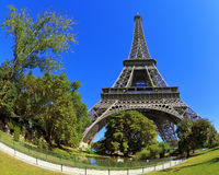 Huge Eiffel Tower Royalty Free Stock Photography