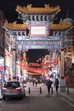 Huge Entrance Gate to Chinatown London UK Royalty Free Stock Photography