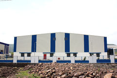 Huge Factory Royalty Free Stock Image