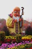 The huge figure of the god of longevity Stock Image