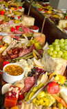 Huge Foods Buffet Stock Photography