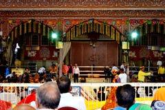Huge gathering of lord Krishna devotees in sri govind devji temple Jaipur Rajasthan India Royalty Free Stock Image