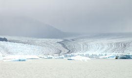 Huge glacier mass. I love Argentina. This is one of the southern hemisphere's glaciers. I hope our next generation can see it royalty free stock image