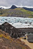 The huge glacier Vatnajokull Royalty Free Stock Photography