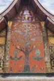 Mosaic at Wat Xieng Thong temple in Luang Prabang Stock Photography