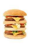 Huge hamburger Royalty Free Stock Photography