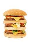 Huge hamburger Royalty Free Stock Photography