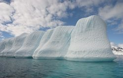 Huge Iceberg Royalty Free Stock Images
