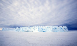 Huge Iceberg in the Antarctic Royalty Free Stock Photos