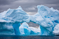 Huge iceberg in Antarctica Royalty Free Stock Photography