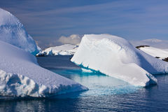 Huge iceberg in Antarctica Stock Photos