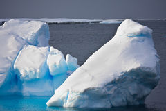 Huge iceberg in Antarctica Stock Images