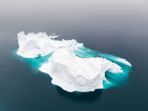 Huge icebergs in Ilulissat city of the Greenland. Stock Images